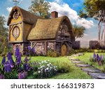 Fairy House With Colorful...