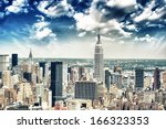 New York City Skyline Aerial...