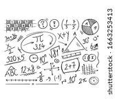 Hand Drawn Math Symbols....