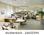 office work place | Shutterstock . vector #16632544