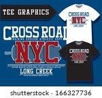 t shirt graphic | Shutterstock .eps vector #166327736
