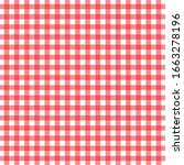 texture of checkered design ... | Shutterstock .eps vector #1663278196