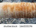 chimney stack brioche baking... | Shutterstock . vector #166333196