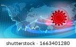 image of stock price decline... | Shutterstock . vector #1663401280