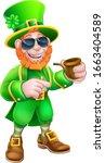 A Leprechaun St Patricks Day...