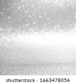 Silver And White Bokeh Lights...