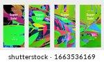 abstract social media template... | Shutterstock .eps vector #1663536169