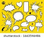 comic book text speech bubble... | Shutterstock .eps vector #1663546486