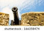 Historical Cannon At Castillo...
