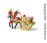 Sicilian Cart Icon Traditional  ...