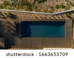 Aerial View Of Pool And Deck I...