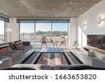 Modern Villa Living Room Couch...