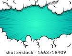 comic book cartoon speech...   Shutterstock .eps vector #1663758409