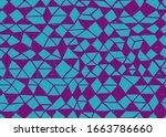 doodle seamless pattern.... | Shutterstock .eps vector #1663786660