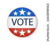 2020 united states of america...   Shutterstock .eps vector #1663848463
