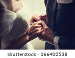 Wedding Hand Holding.