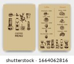 illustration with an... | Shutterstock .eps vector #1664062816