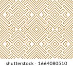 abstract geometric pattern. a... | Shutterstock . vector #1664080510