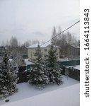 Winter Landscape From A Villag...