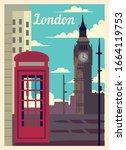 Retro Poster London City...