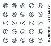 ui ux   outline icons set.