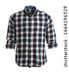 Checkered Shirt On Mannequin...