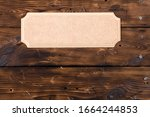 A Light Brown Rustic Tablet...