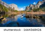 Yosemite National Park On The...