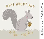 Cute Squirrel Character ...