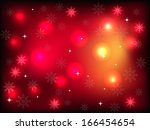 red christmas background with... | Shutterstock .eps vector #166454654