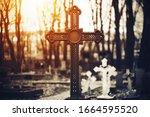 A Beautiful Old Rusty Cross...