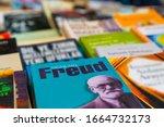 Small photo of Ankara/Turkey- March 01 2020: Book related to Sigmund Freud in a flea market