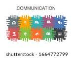 communication cartoon template...