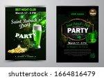 irish holiday saint patrick s... | Shutterstock .eps vector #1664816479