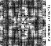 seamless checked pattern. black ... | Shutterstock .eps vector #166487453