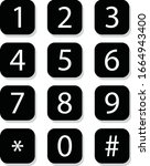 number key pad for graphic...