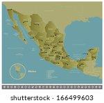 mexico | Shutterstock .eps vector #166499603