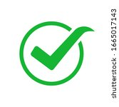 true checkmark green vector...