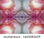Multicolored Marble Swirl...