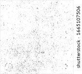 black and white grunge abstract ... | Shutterstock .eps vector #1665107506