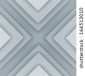 abstract gray and white... | Shutterstock . vector #166513010