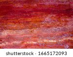 Coral Stone Background With...