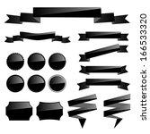 vector set of design elements   Shutterstock .eps vector #166533320