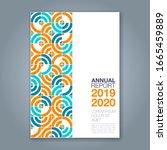 abstract minimal geometric... | Shutterstock .eps vector #1665459889