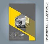 abstract minimal geometric...   Shutterstock .eps vector #1665459910