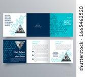 brochure design  brochure... | Shutterstock .eps vector #1665462520
