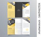 brochure design  brochure... | Shutterstock .eps vector #1665462526