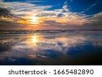 Sunset Sea Horizon Sky Clouds....