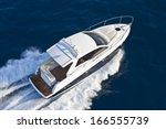 motor boat  rio yachts  best... | Shutterstock . vector #166555739