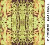 Colorful Mosaic Patterns. Brown ...